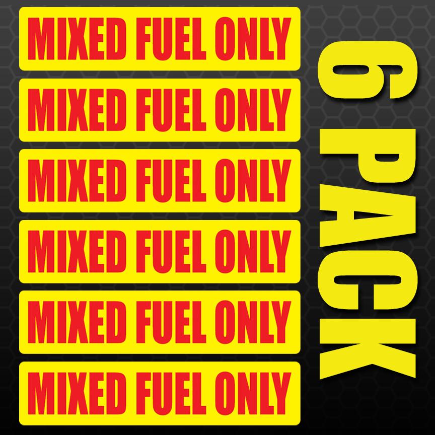 Set of 3 Regular Gas Gasoline Fuel Tank Oil Printed Warning Label Sticker Decal