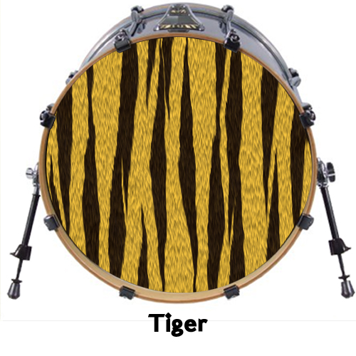 custom 18 bass drum head decals skin wrap kick sticker vinyl double free design ebay. Black Bedroom Furniture Sets. Home Design Ideas